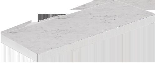 Белый Агат глянец LD-40